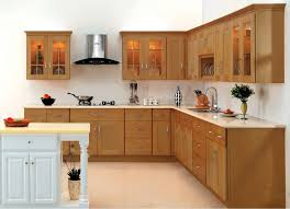kitchen cabinets as shown above in the perspective shots start from
