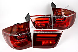 bmw x5 tail light removal bmw x5 e70 lci 2010 facelift inner outer tail lights rear ls