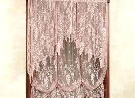 Lace Valance Curtains Curtains With Attached Valance Drapes With Attached Valance 6 Lace