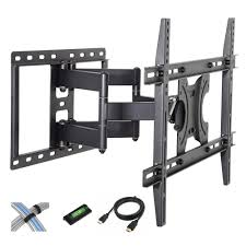 wall mounted cable management system sanus 32 in 70 in tilting wall mount vmpl50a b1 the home depot