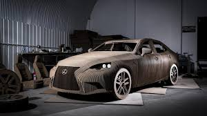 lexus motors brasil lexus prepares drivable is full size origami replica with electric