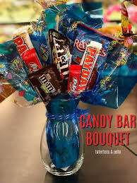candy bar bouquet make a candy bar bouquet gift tutorial the gift for