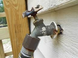 exterior faucet valve repair pics hull truth boating