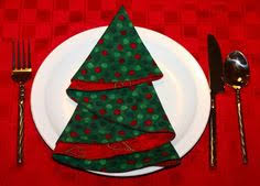 christmas tree napkin tutorial christmas pinterest christmas