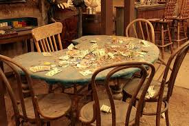 Used Poker Tables by Original Faro Table Where Doc Holliday Played Picture Of Bird