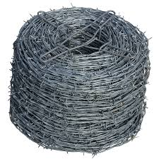 shop steel barbed wire common x actual 1320 ft at lowes com