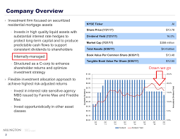 Operating Expense Report by Your Dividend Is Doomed Arlington Asset Investment Corporation
