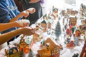 mini lights for christmas village opulent design miniature christmas village lights light sets for