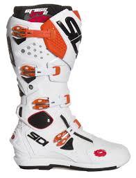 motocross boots sidi sidi mx boots crossfire 2 srs white orange 2017 maciag offroad
