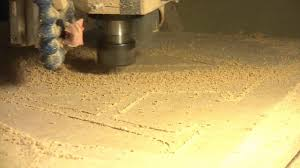 cnc router mdf letters youtube