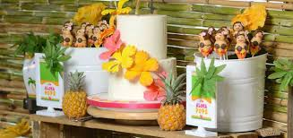 luau theme party kara s party ideas hawaiian luau themed birthday party