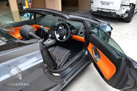 black lamborghini gallardo spyder lamborghini gallardo spyder interior orange with black stitching