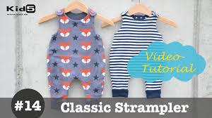 strler selbst designen strler oder spieler für babys selber nähen diy näh tutorial