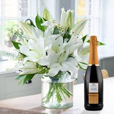 flowers wine flowers wine flower bouquets and gifts blossoming gifts