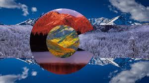 State Flag Of Colorado I Made A Composite Wallpaper Based Colorado U0027s State Flag More