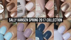 nail coverage in one coat sally hansen spring 2017 collection