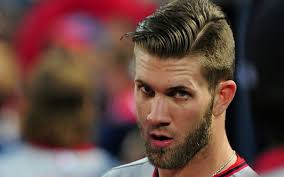 baseball hairstyles simple hairstyle for baseball hairstyles bryce harper swoon worthy