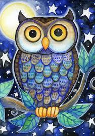 Halloween Owls Google Image Result For Http Img1 Etsystatic Com 000 0 6406860