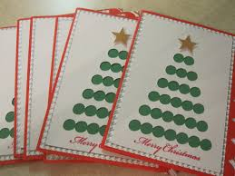 make a christmas card how to make a christmas card or by diy cards with ribbons