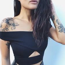 best 25 feminine shoulder tattoos ideas on pinterest shoulder