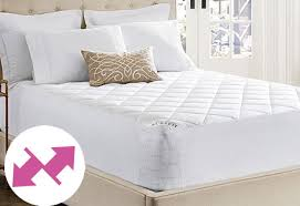 sure fit breathable mattress pad