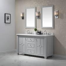 Ove Decors Bathroom Vanities Shop Ove Decors Positano Dove Gray Undermount Sink Bathroom