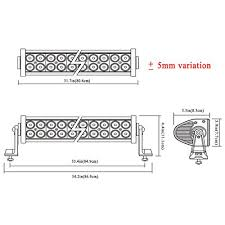 curved marine led light bar penton 180w 34 inch led work light bar offroad for suv ute truck atv