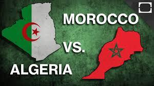 Algerian Flag Algeria Vs Morocco Algeria Slowly But Surely Getting More