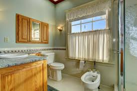 Bathroom Tier Curtains Tier Curtains Lovetoknow