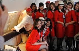airasia uniform airasia chief on revealing crew uniform crew designed outfit