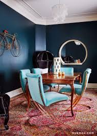 7 stylish blue dining room chairs that you will covet blue