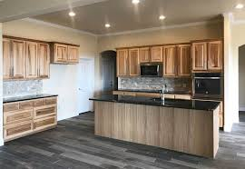 what paint color goes best with hickory cabinets what flooring goes with hickory cabinets designing idea