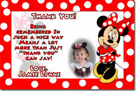 minnie mouse thank you cards minnie mouse birthday invitations candy wrappers thank you cards