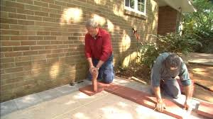 Done Deal Patio Slabs How To Lay A Paver Patio Today U0027s Homeowner