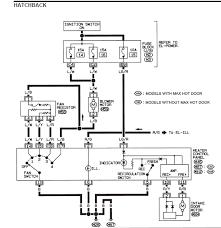 wiring diagram for nissan almera window switch nissan datsun