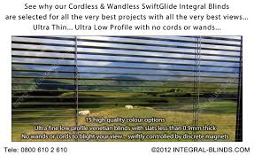 Double Glazed Units With Integral Blinds Prices Integral Blinds Ltd Magnet Controlled Integral Blinds In Double
