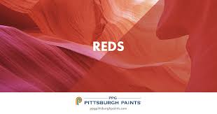 ppg pittsburgh paints red paint colors