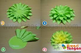 membuat hiasan bunga dari kertas lipat kerajinan tangan dari kertas lipat fikri maulana pinterest