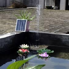 small garden fountains solar home outdoor decoration