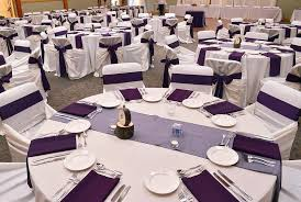 eggplant colored table linens eggplant linen napkins ivory table linen ivory bag style chair