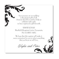 wedding gift list wording jones wedding gift list tbrb info