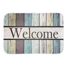 Aliexpresscom  Buy Welcome Funny Doormat Colorful Striped - Decorative floor mats home