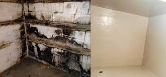 Black Mold On Concrete Basement Walls Goldwellrestoration