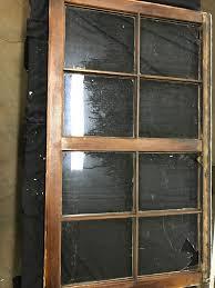 8 pane wood casement window