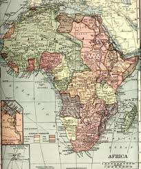africa map before colonization history of africa new world encyclopedia