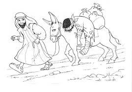depiction good samaritan coloring netart