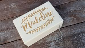 Customized Keepsake Box Rustic Jewelry Box Custom Engraved Keepsake Box Little