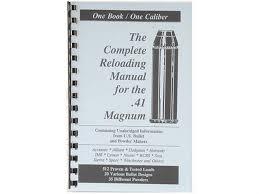 Barnes Reload Data Loadbooks Usa 41 Remington Mag Reloading Manual Mpn 41 Mag