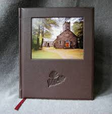 Leather Wedding Guest Book Fine Blank Books