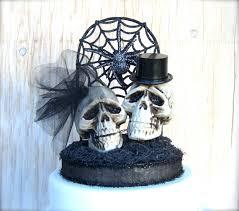 skull cake topper interesting design wedding cake toppers wedding cake
